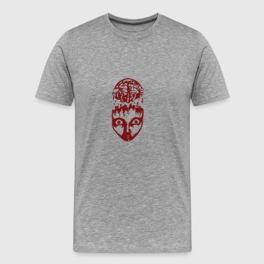 Red brain wrench - Men's Premium T-Shirt