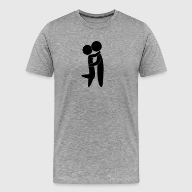 Valentine Couple - Men's Premium T-Shirt