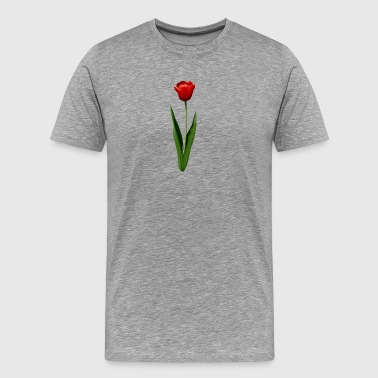 Red tulip - Men's Premium T-Shirt