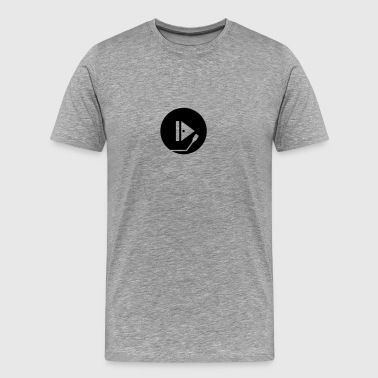 Play Symbol Vinyl Platte Music DJ - Men's Premium T-Shirt