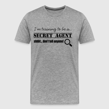 Secret Agent - Men's Premium T-Shirt