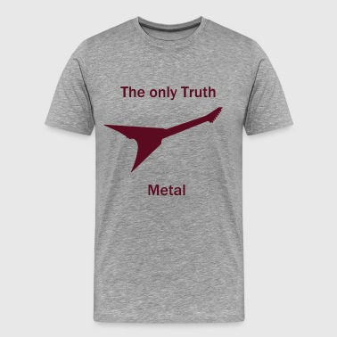 Heavy Metal - Herre premium T-shirt