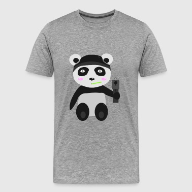 Gangsta Panda - Men's Premium T-Shirt
