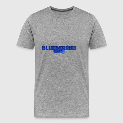 BlueBerries - Premium-T-shirt herr