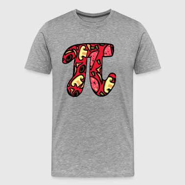 Pi character cooking gift Crazy food - Men's Premium T-Shirt