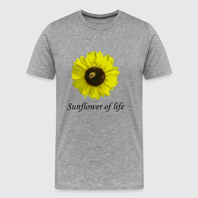 "Sunflower of life ""Sunflower of life"" - Men's Premium T-Shirt"