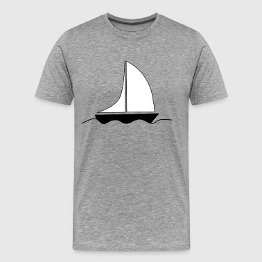sailingboat - Men's Premium T-Shirt