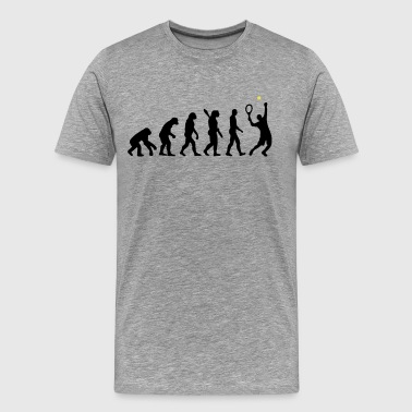 Tennis evolution - Men's Premium T-Shirt