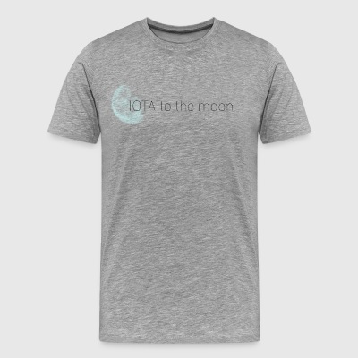 IOTA to the Pixel Moon! - Männer Premium T-Shirt