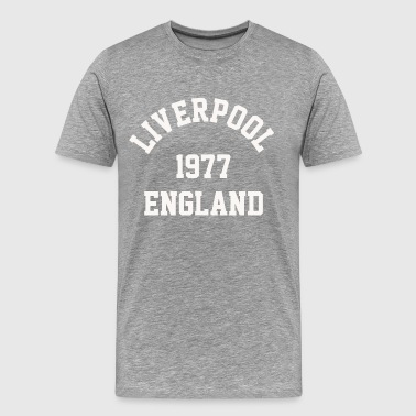 Liverpool 1977 England college - Men's Premium T-Shirt