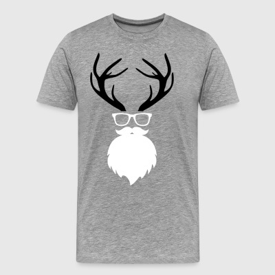 Merry Christmas Christmas Deer! - Men's Premium T-Shirt