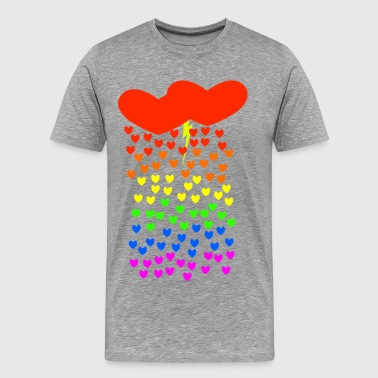 Gay Love Storm - Men's Premium T-Shirt
