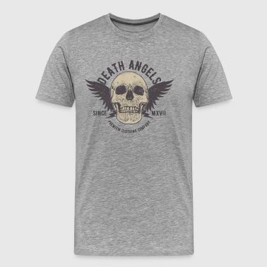 Death Angel Skull skjorte - Premium T-skjorte for menn