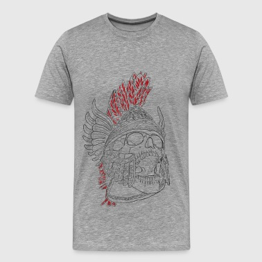 Silent Fall - Mythologie - Mannen Premium T-shirt
