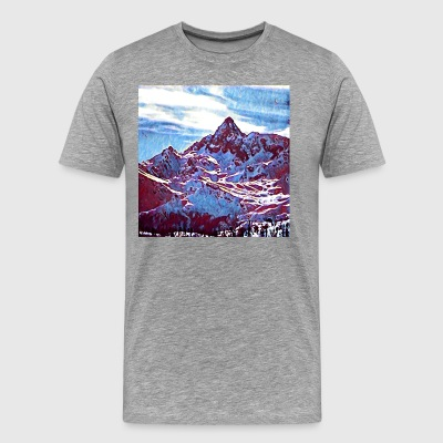 Red Mountain - Herre premium T-shirt