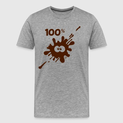 100% MUD - Men's Premium T-Shirt