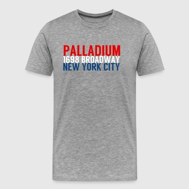 Palladium 1698 Broadway New York City - Mannen Premium T-shirt
