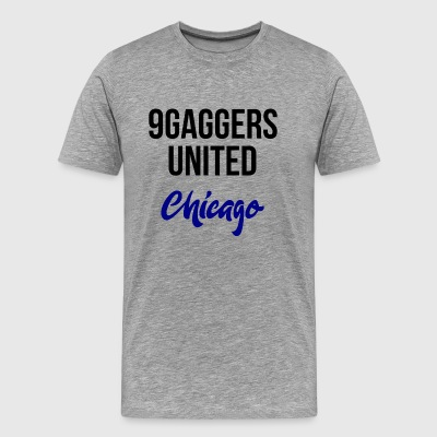 9gagger Chicago - Men's Premium T-Shirt