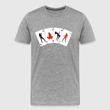 Sexy poker - Men's Premium T-Shirt