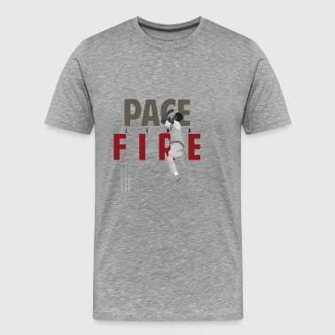 Holding Pace Like Fire - Men's Premium T-Shirt