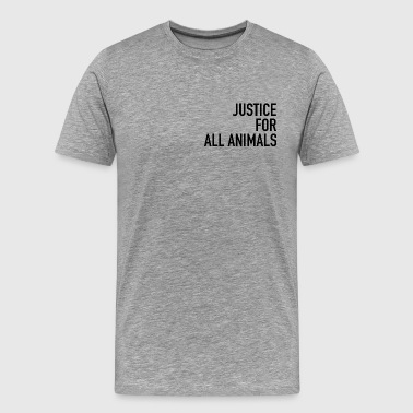Justice black - Men's Premium T-Shirt