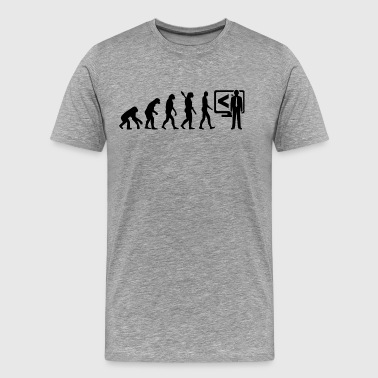 Evolution Developer Development Programmer b - Men's Premium T-Shirt