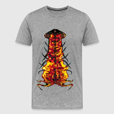 Nasty Alien Parasite - Men's Premium T-Shirt