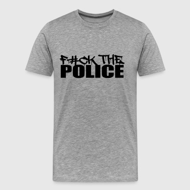 Logo Design Fuck The Police - Men's Premium T-Shirt