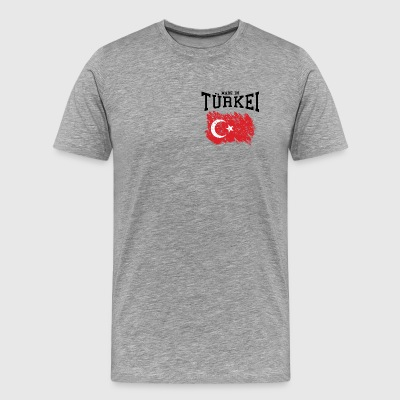 Made in Turkey - Premium T-skjorte for menn