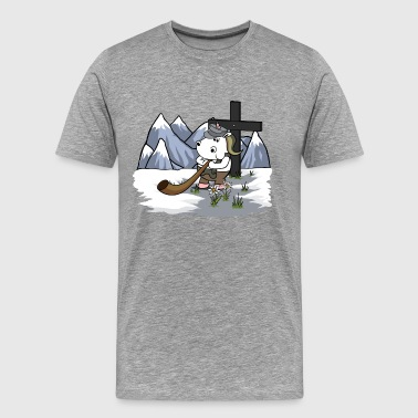 Bundeswehr Mountaineer Unicorn - Mannen Premium T-shirt