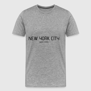 new york city - Premium T-skjorte for menn