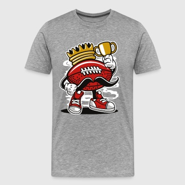 Football King - Men's Premium T-Shirt