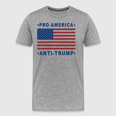 PRO-AMERICA - ANTI-TRUMP - Men's Premium T-Shirt