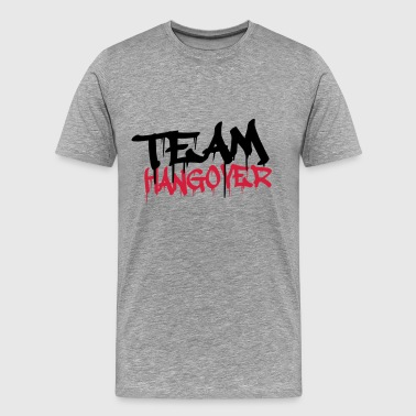 Cool Team Hangover Graffiti - Männer Premium T-Shirt