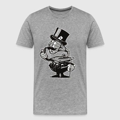 Gramophone Head - Men's Premium T-Shirt