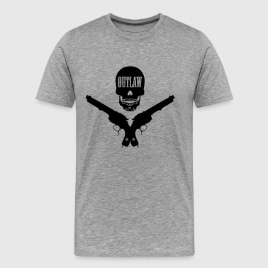 outlaw tattoo style - Mannen Premium T-shirt