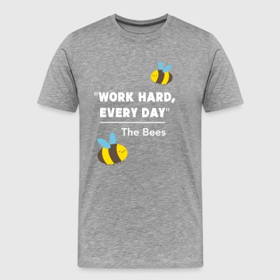 Bees work beekeeper nature honey hobby gift - Men's Premium T-Shirt
