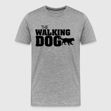 The Dog Walking - Version01 - Maglietta Premium da uomo