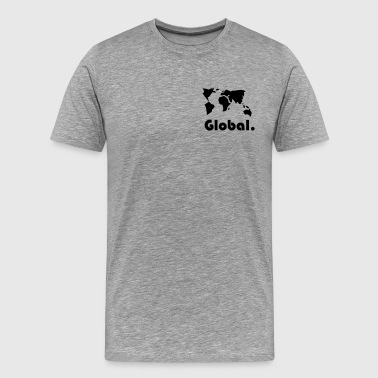 Global Tema - Herre premium T-shirt