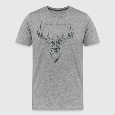 Digital camo deer - Men's Premium T-Shirt