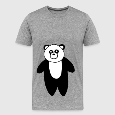 Cute Panda drawing - Men's Premium T-Shirt