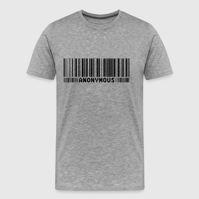 Anonymous Barcode - We are legion - Shirt - Männer Premium T-Shirt