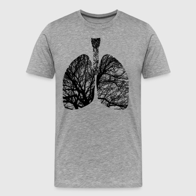 Lungs - Men's Premium T-Shirt