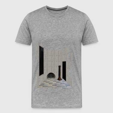 Carlsberg Architectural Collage 4 - Herre premium T-shirt