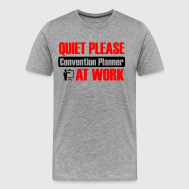 Convention planner at work - Men's Premium T-Shirt