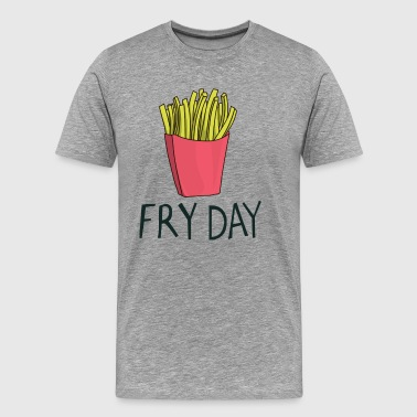 Fryday Pommestag Friday - Men's Premium T-Shirt