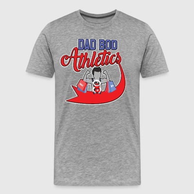 dad bod athletics - Men's Premium T-Shirt