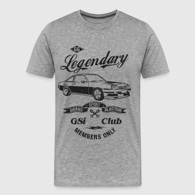Legendary Manta GSI CLUB - Männer Premium T-Shirt