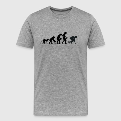 Evolution runners - Men's Premium T-Shirt