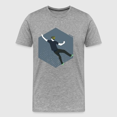 boulderman - Men's Premium T-Shirt